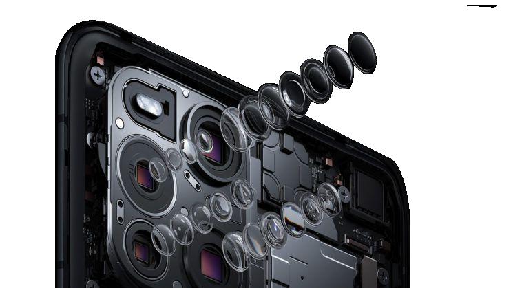 Immagine della fotocamera dello smarphone Oppo Find X3 Pro